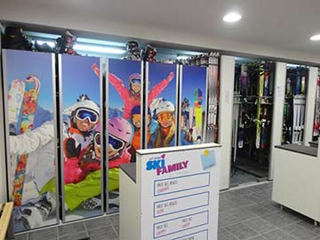 Ski Family intérieur magasin 1