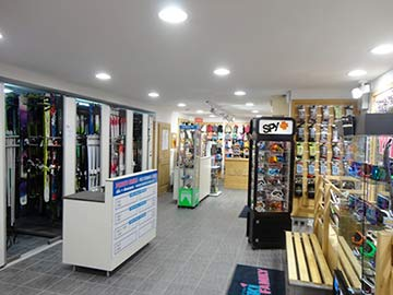 Ski Family intérieur magasin 2