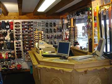 Skiloc Samoëns 1600 intérieur magasin